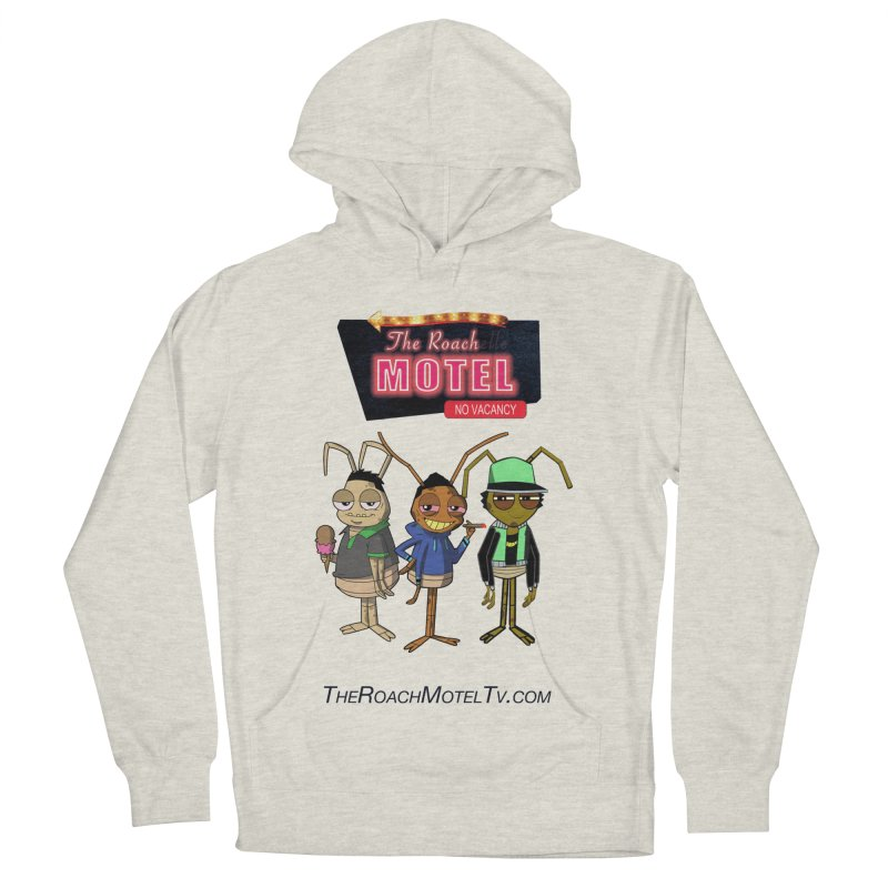 The Roach Motel (White) Men's French Terry Pullover Hoody by The Roach Motel's Artist Shop
