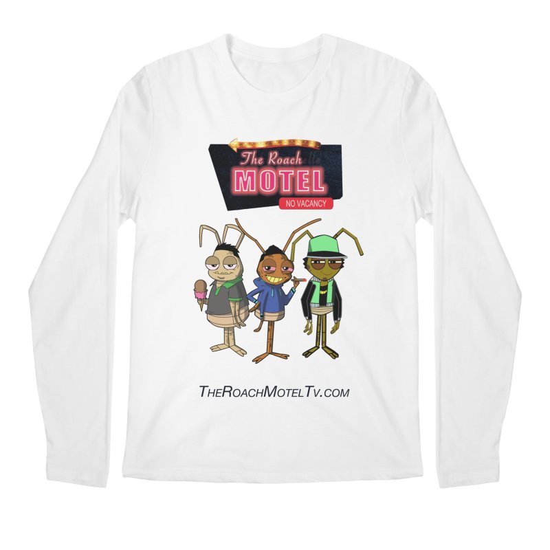 The Roach Motel (White) Men's Regular Longsleeve T-Shirt by The Roach Motel's Artist Shop
