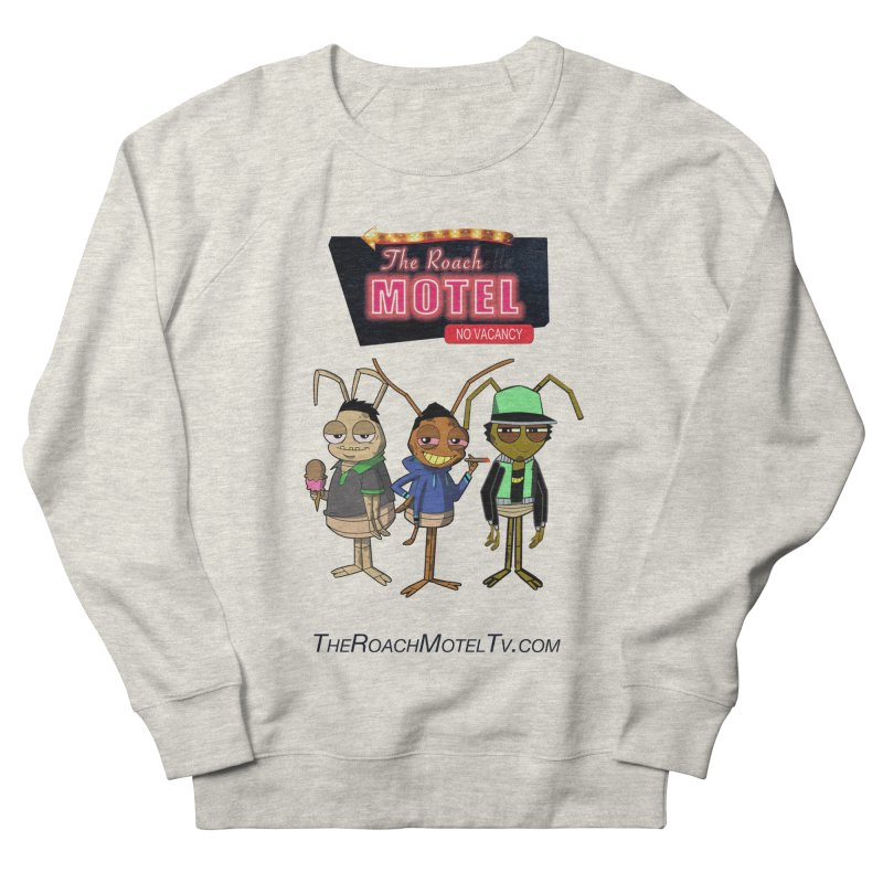 The Roach Motel (White) Men's French Terry Sweatshirt by The Roach Motel's Artist Shop