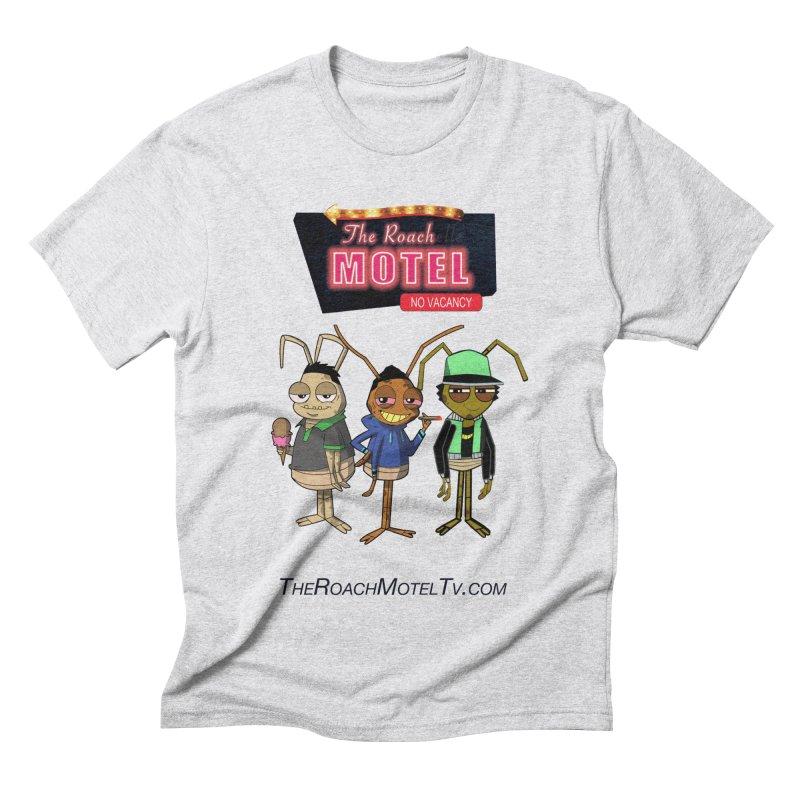 The Roach Motel (White) Men's Triblend T-Shirt by The Roach Motel's Artist Shop