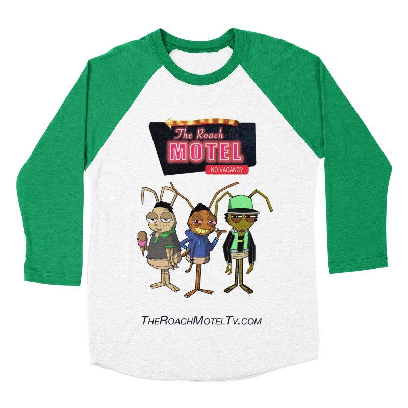 The Roach Motel (White) Women's Baseball Triblend Longsleeve T-Shirt by The Roach Motel's Artist Shop