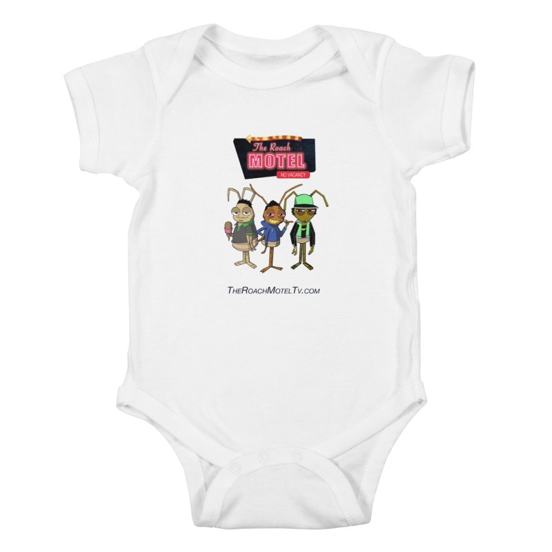 The Roach Motel (White) Kids Baby Bodysuit by The Roach Motel's Artist Shop