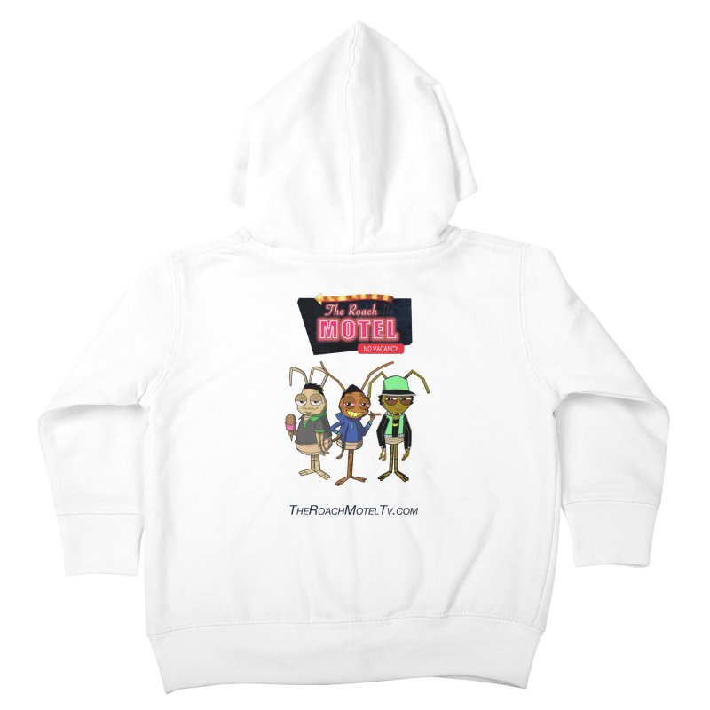 The Roach Motel (White) Kids Toddler Zip-Up Hoody by The Roach Motel's Artist Shop