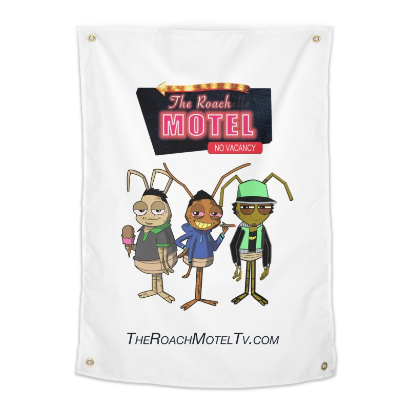 The Roach Motel (White) Home Tapestry by The Roach Motel's Artist Shop
