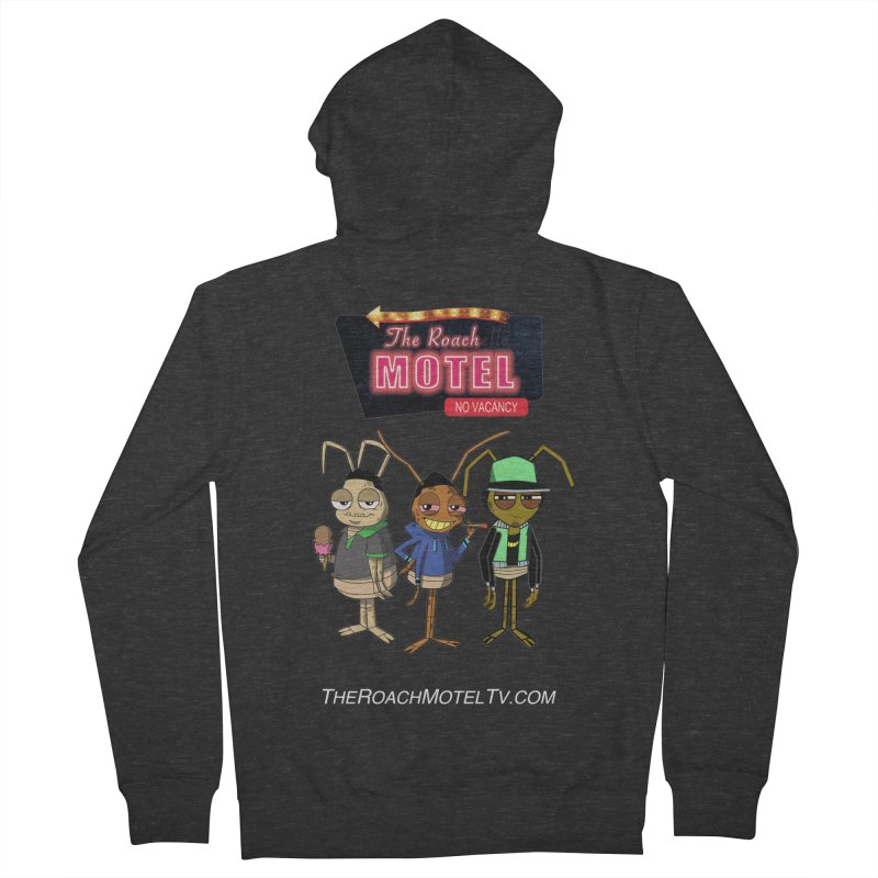 The Roach Motel (Colors) Women's French Terry Zip-Up Hoody by The Roach Motel's Artist Shop