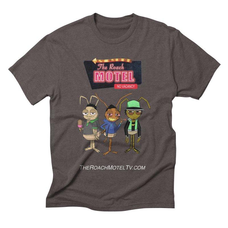 The Roach Motel (Colors) Men's Triblend T-Shirt by The Roach Motel's Artist Shop