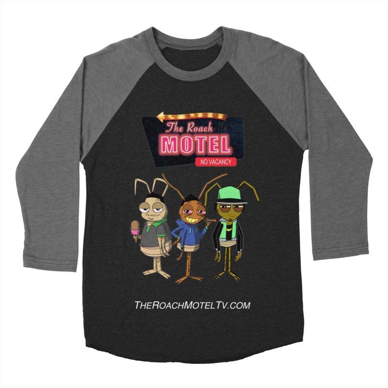 The Roach Motel (Colors) Women's Baseball Triblend Longsleeve T-Shirt by The Roach Motel's Artist Shop