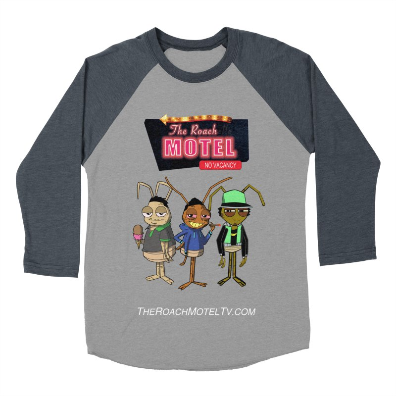 The Roach Motel (Colors) Men's Baseball Triblend Longsleeve T-Shirt by The Roach Motel's Artist Shop