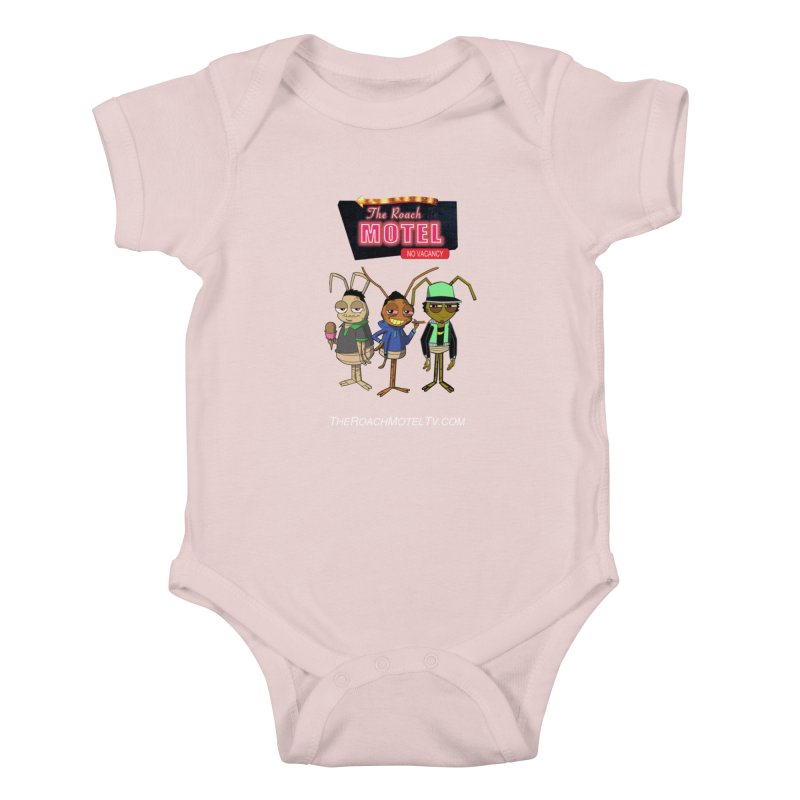 The Roach Motel (Colors) Kids Baby Bodysuit by The Roach Motel's Artist Shop