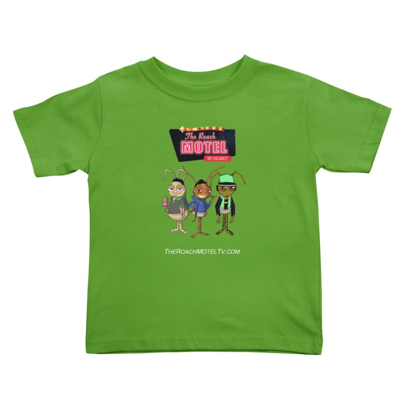 The Roach Motel (Colors) Kids Toddler T-Shirt by The Roach Motel's Artist Shop