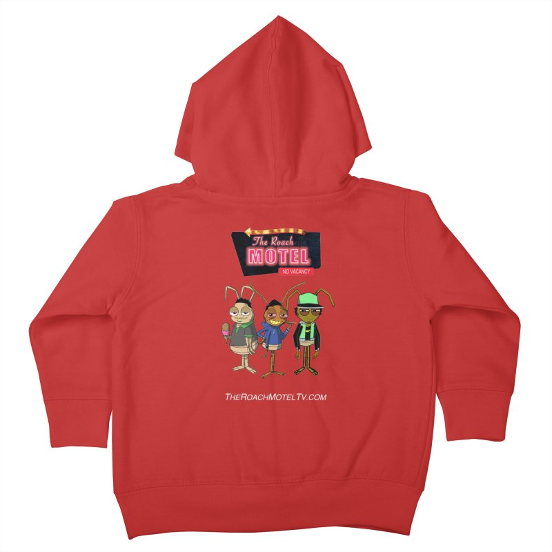 The Roach Motel (Colors) Kids Toddler Zip-Up Hoody by The Roach Motel's Artist Shop