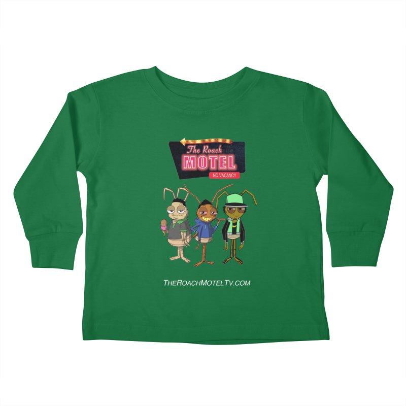 The Roach Motel (Colors) Kids Toddler Longsleeve T-Shirt by The Roach Motel's Artist Shop