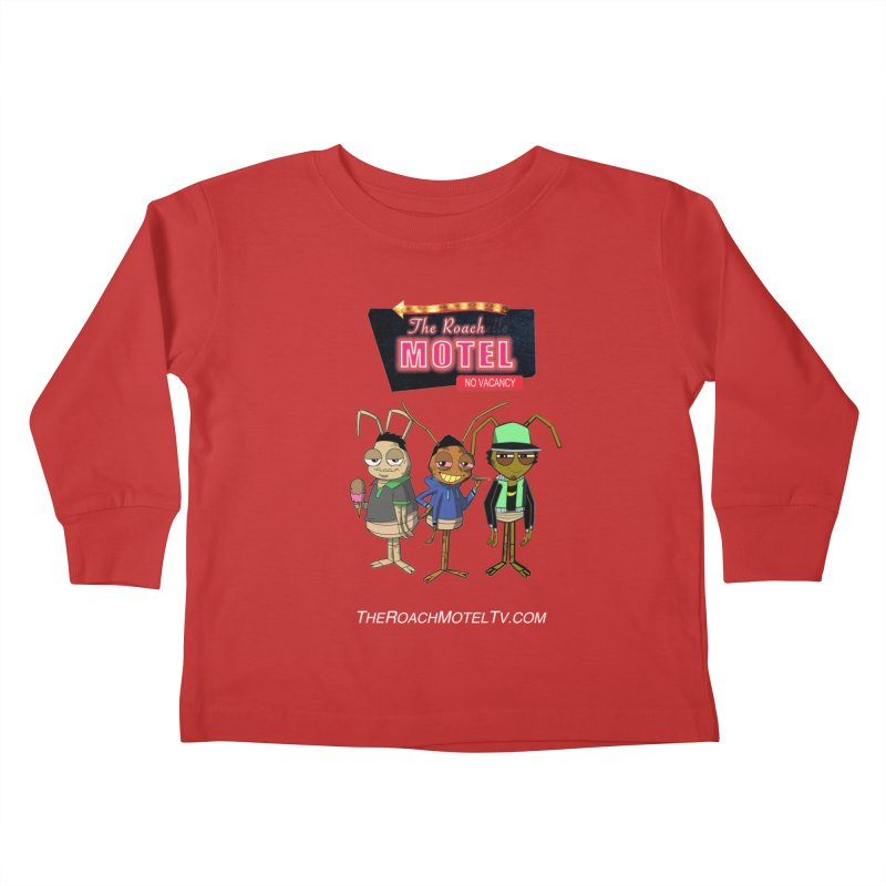 The Roach Motel (Colors) Kids Toddler Longsleeve T-Shirt by The Roach Motel's Artist Shop