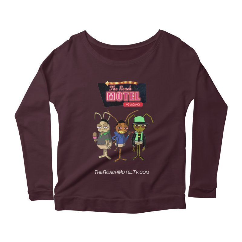 The Roach Motel (Colors) Women's Scoop Neck Longsleeve T-Shirt by The Roach Motel's Artist Shop