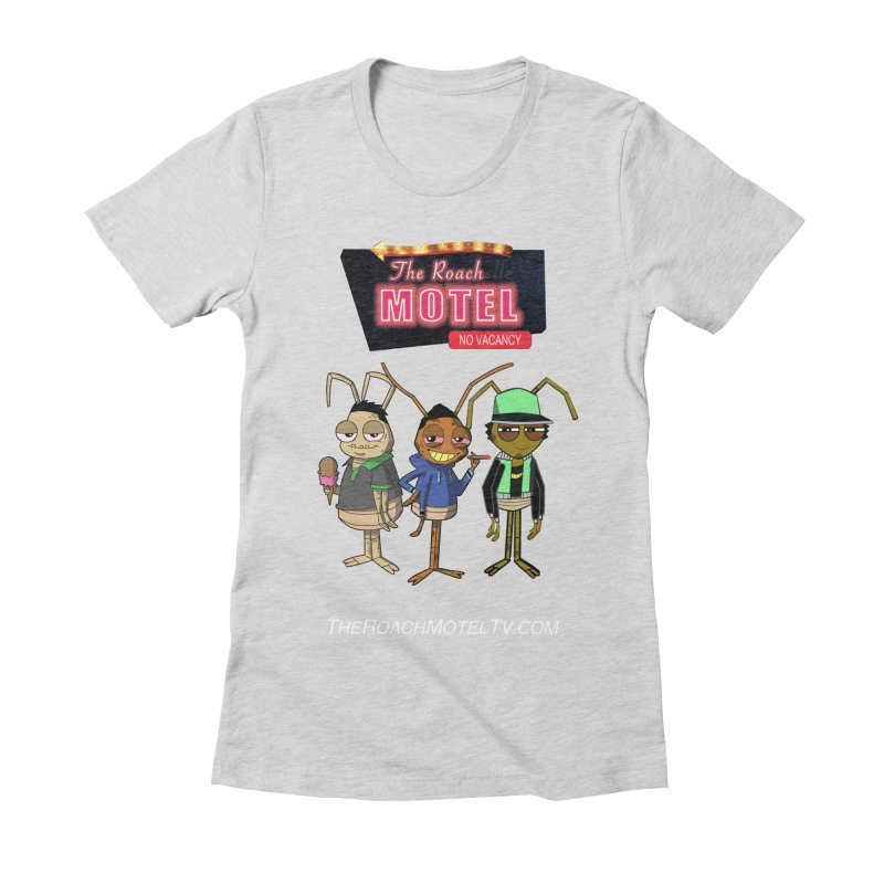 The Roach Motel (Colors) Women's Fitted T-Shirt by The Roach Motel's Artist Shop