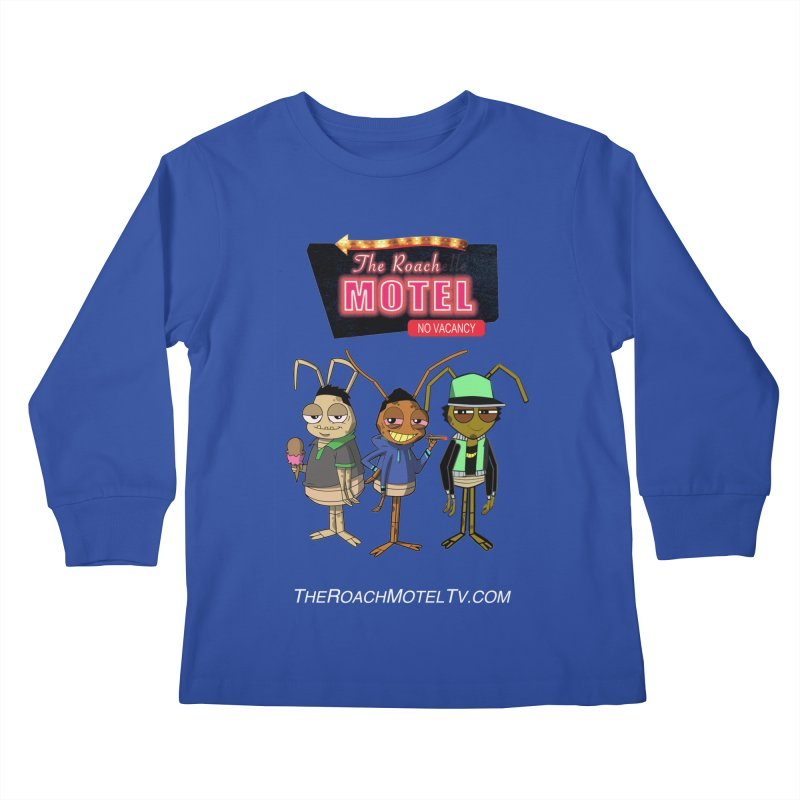 The Roach Motel (Colors) Kids Longsleeve T-Shirt by The Roach Motel's Artist Shop