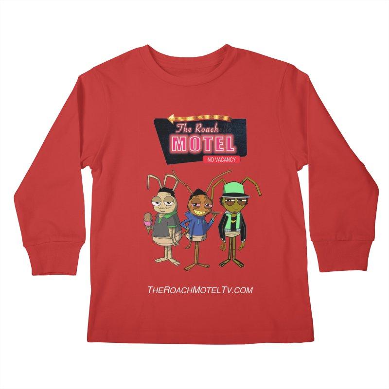 The Roach Motel (Colors) Kids Longsleeve T-Shirt by The Roach Motel's Artist Shop