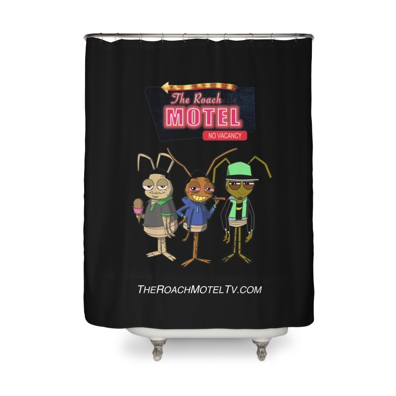 The Roach Motel (Colors) Home Shower Curtain by The Roach Motel's Artist Shop
