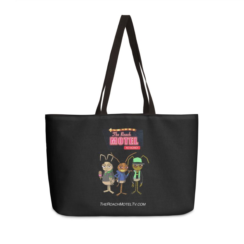 The Roach Motel (Colors) Accessories Weekender Bag Bag by The Roach Motel's Artist Shop