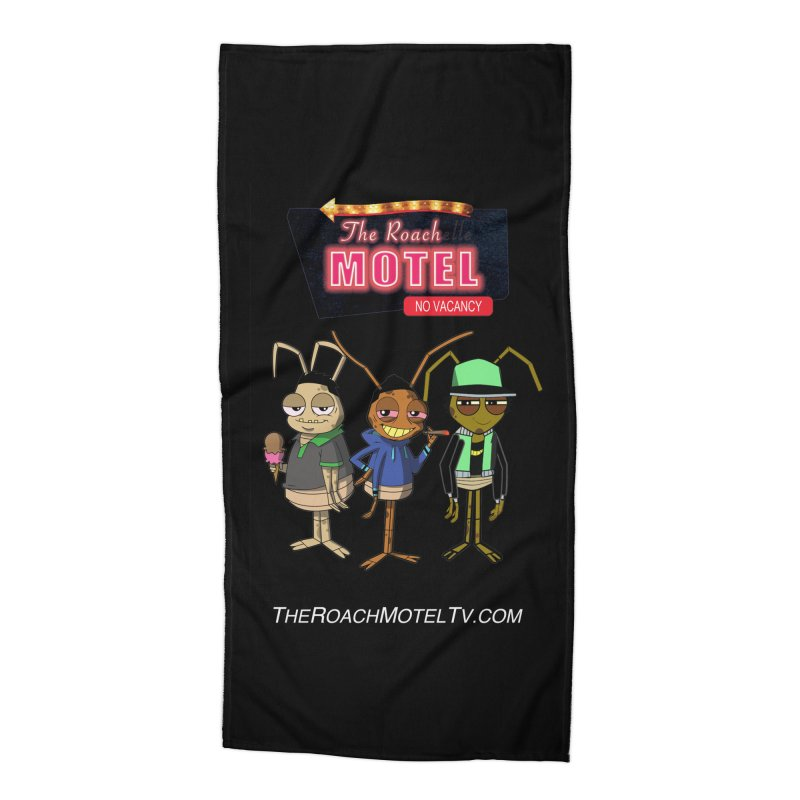 The Roach Motel (Colors) Accessories Beach Towel by The Roach Motel's Artist Shop