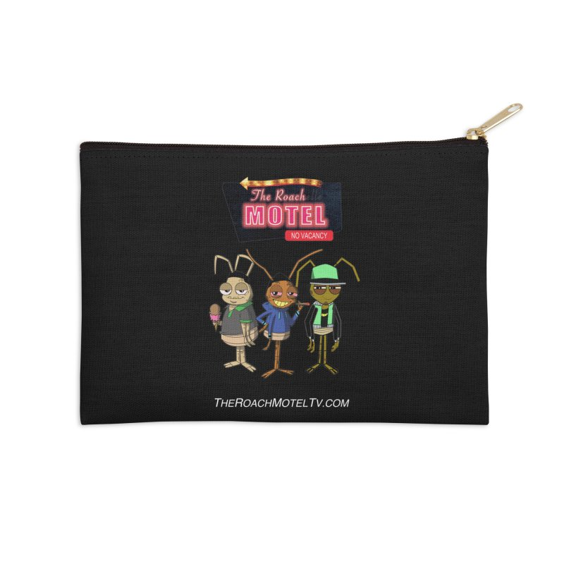 The Roach Motel (Colors) Accessories Zip Pouch by The Roach Motel's Artist Shop