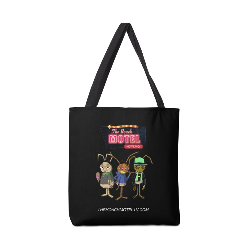 The Roach Motel (Colors) Accessories Tote Bag Bag by The Roach Motel's Artist Shop