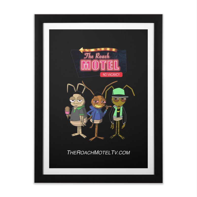 The Roach Motel (Colors) Home Framed Fine Art Print by The Roach Motel's Artist Shop