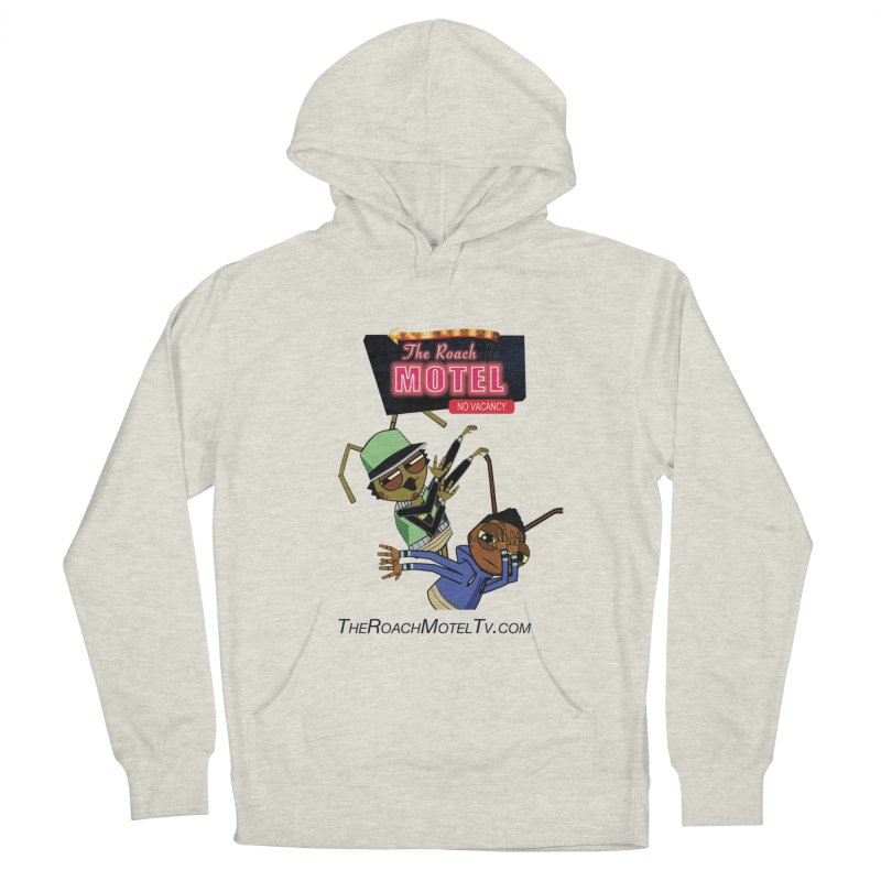Roach DAB (White) Men's French Terry Pullover Hoody by The Roach Motel's Artist Shop