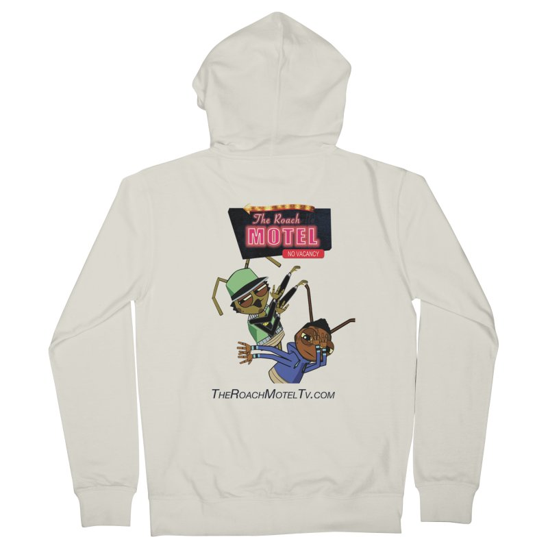 Roach DAB (White) Women's French Terry Zip-Up Hoody by The Roach Motel's Artist Shop
