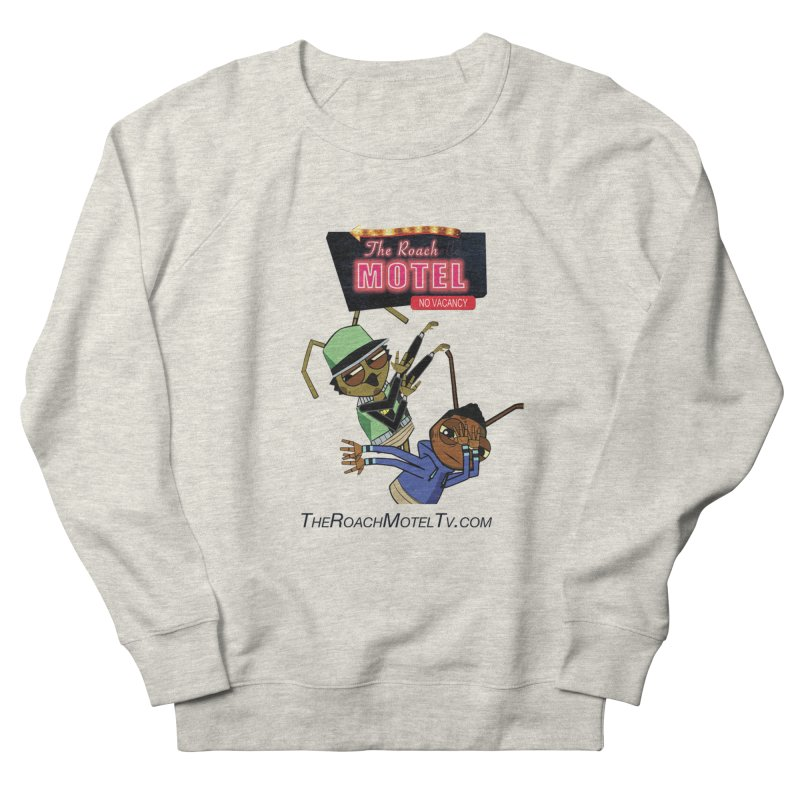 Roach DAB (White) Men's French Terry Sweatshirt by The Roach Motel's Artist Shop