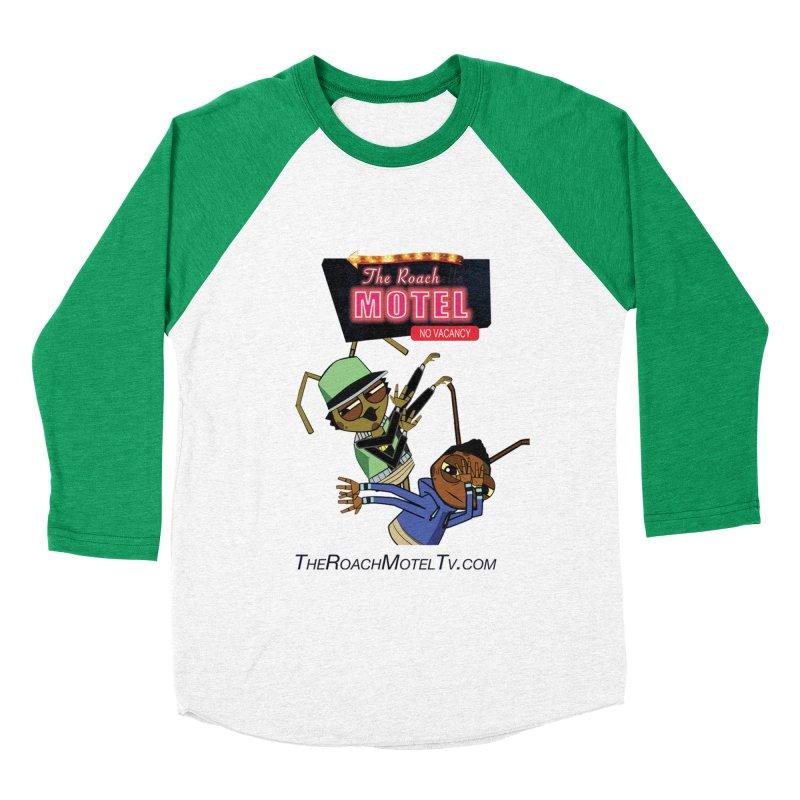 Roach DAB (White) Men's Baseball Triblend Longsleeve T-Shirt by The Roach Motel's Artist Shop