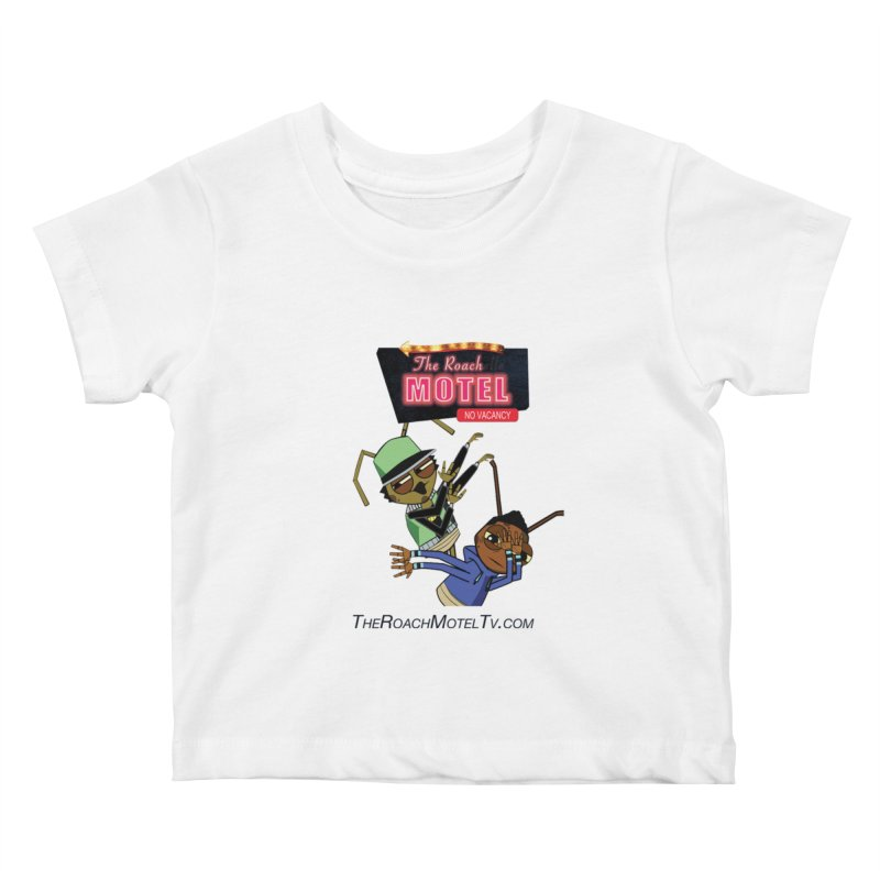 Roach DAB (White) Kids Baby T-Shirt by The Roach Motel's Artist Shop