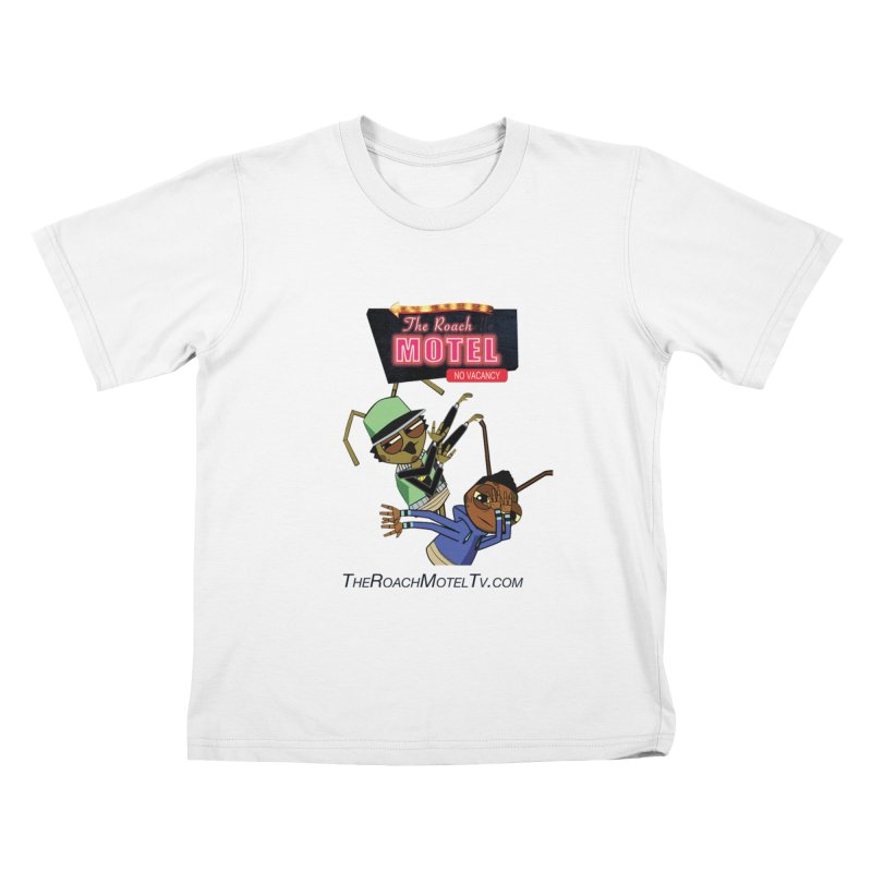 Roach DAB (White) Kids T-Shirt by The Roach Motel's Artist Shop