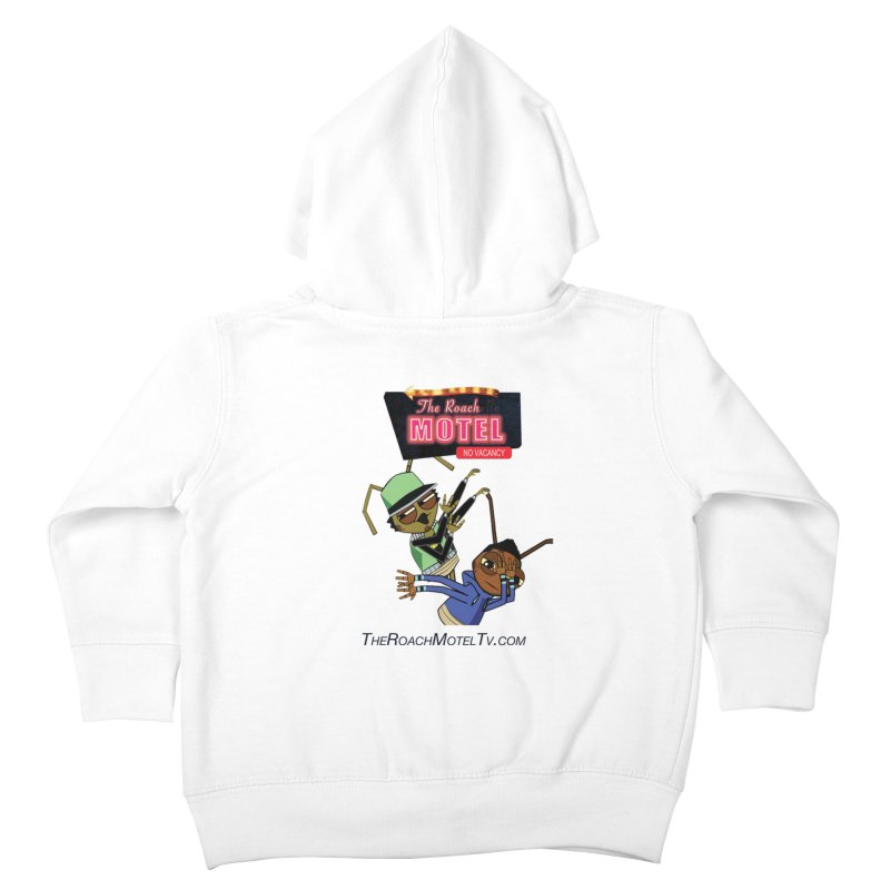 Roach DAB (White) Kids Toddler Zip-Up Hoody by The Roach Motel's Artist Shop