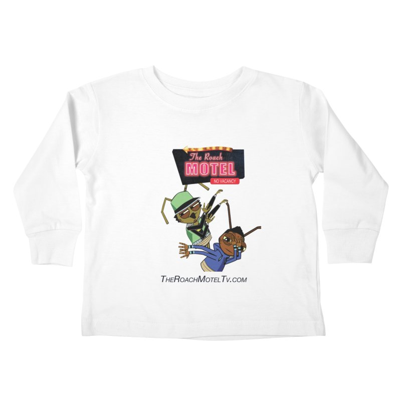 Roach DAB (White) Kids Toddler Longsleeve T-Shirt by The Roach Motel's Artist Shop