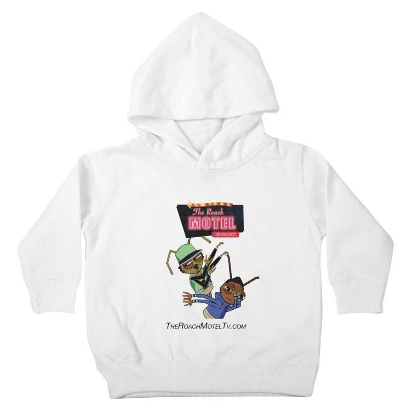 Roach DAB (White) Kids Toddler Pullover Hoody by The Roach Motel's Artist Shop