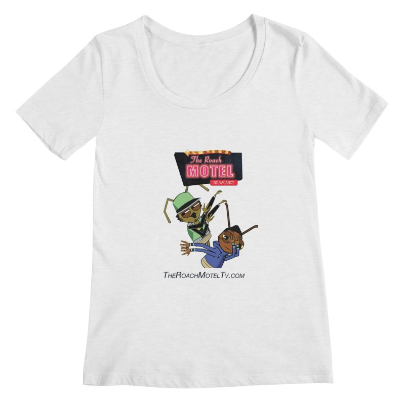 Roach DAB (White) Women's Regular Scoop Neck by The Roach Motel's Artist Shop