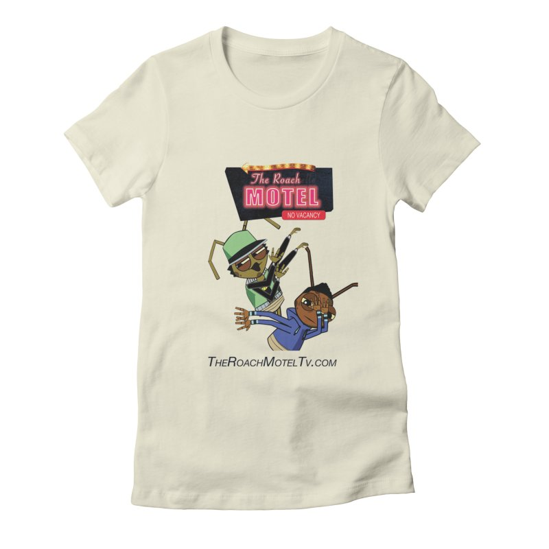 Roach DAB (White) Women's Fitted T-Shirt by The Roach Motel's Artist Shop