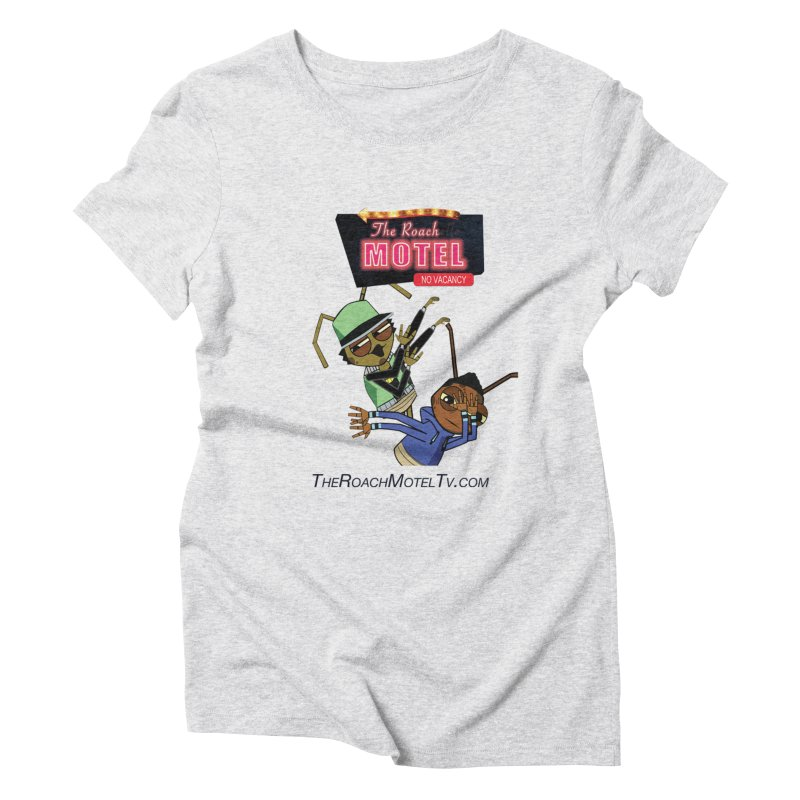 Roach DAB (White) Women's Triblend T-Shirt by The Roach Motel's Artist Shop