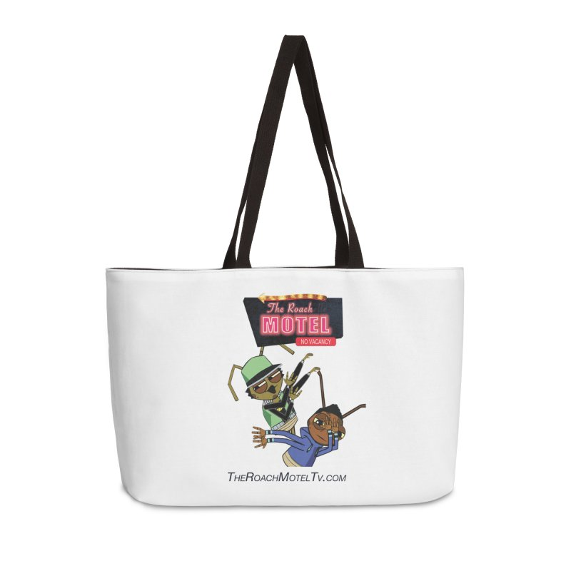 Roach DAB (White) Accessories Weekender Bag Bag by The Roach Motel's Artist Shop