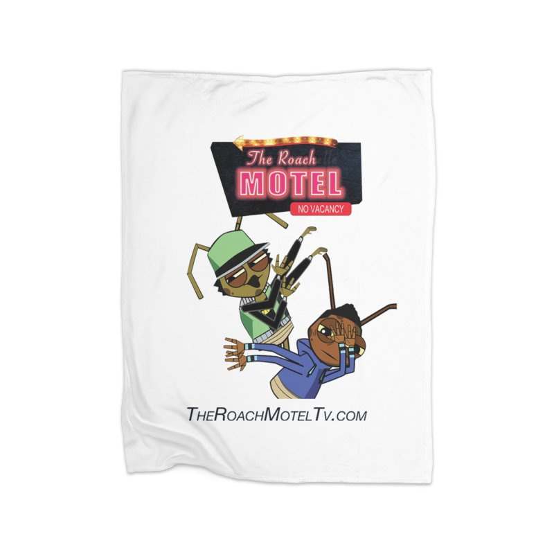 Roach DAB (White) Home Blanket by The Roach Motel's Artist Shop