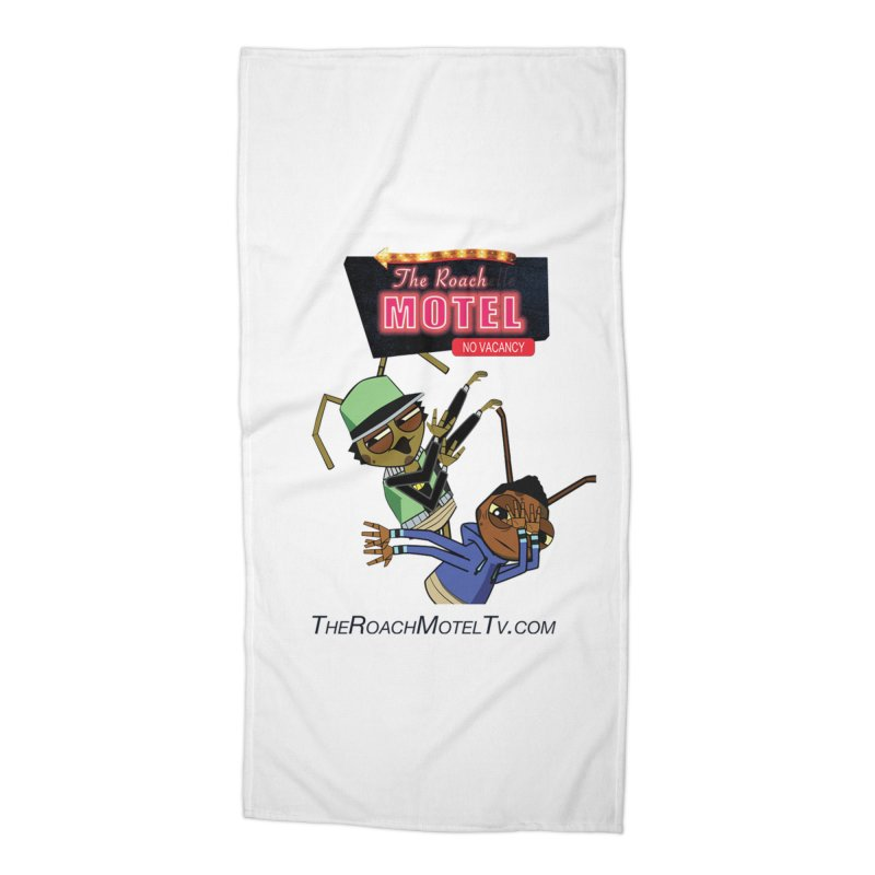 Roach DAB (White) Accessories Beach Towel by The Roach Motel's Artist Shop