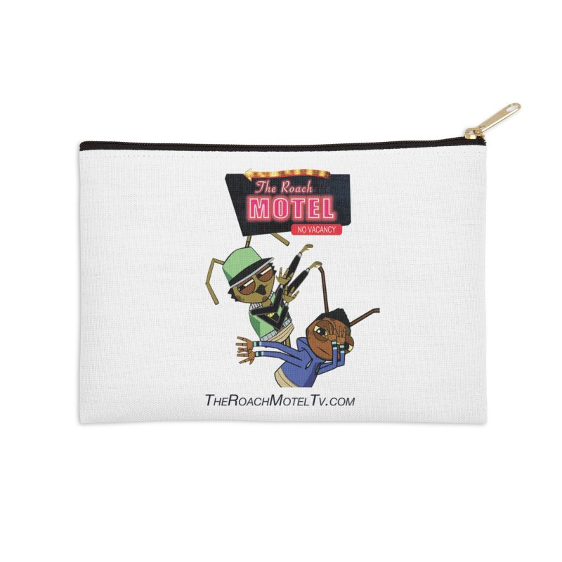 Roach DAB (White) Accessories Zip Pouch by The Roach Motel's Artist Shop
