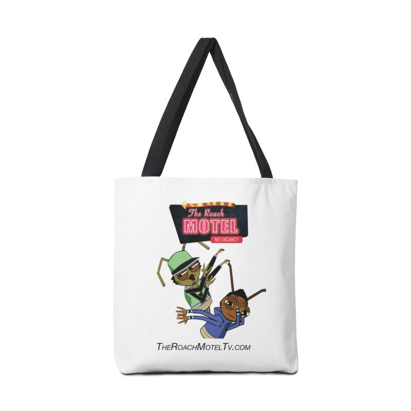 Roach DAB (White) Accessories Tote Bag Bag by The Roach Motel's Artist Shop