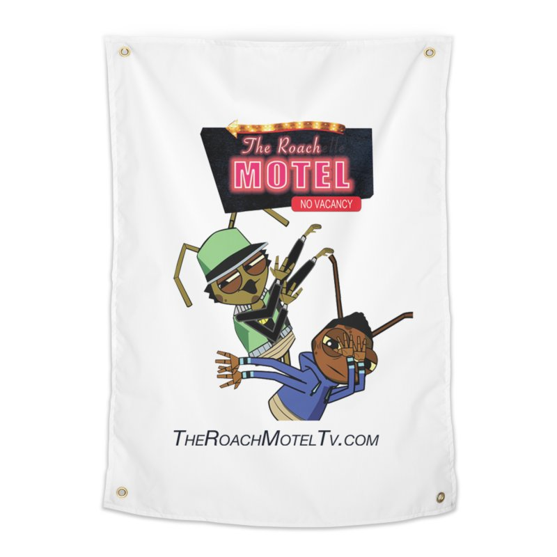 Roach DAB (White) Home Tapestry by The Roach Motel's Artist Shop