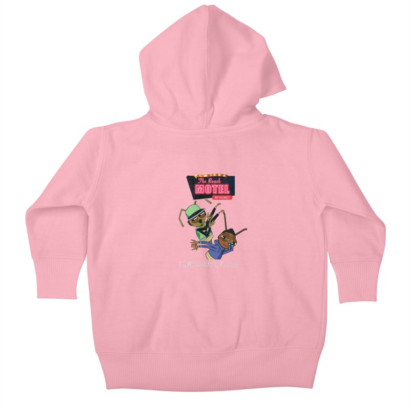 Roach DAB (Color) Kids Baby Zip-Up Hoody by The Roach Motel's Artist Shop