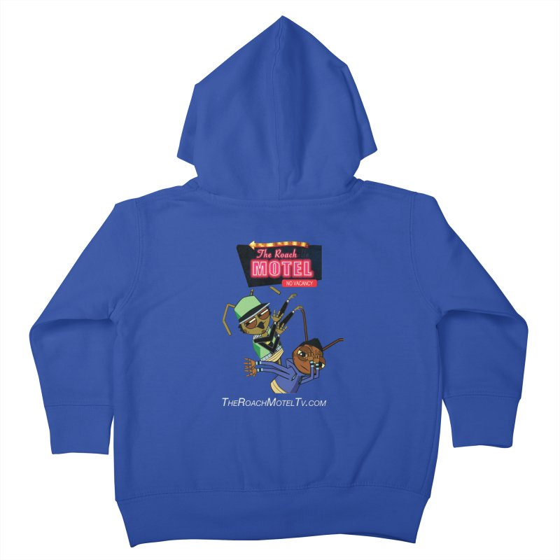 Roach DAB (Color) Kids Toddler Zip-Up Hoody by The Roach Motel's Artist Shop