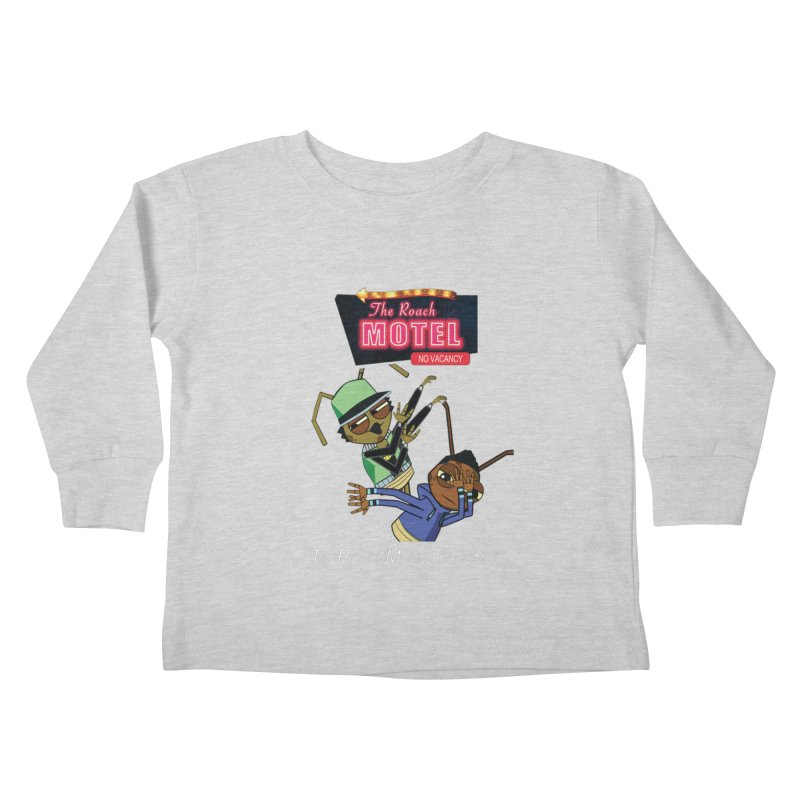 Roach DAB (Color) Kids Toddler Longsleeve T-Shirt by The Roach Motel's Artist Shop