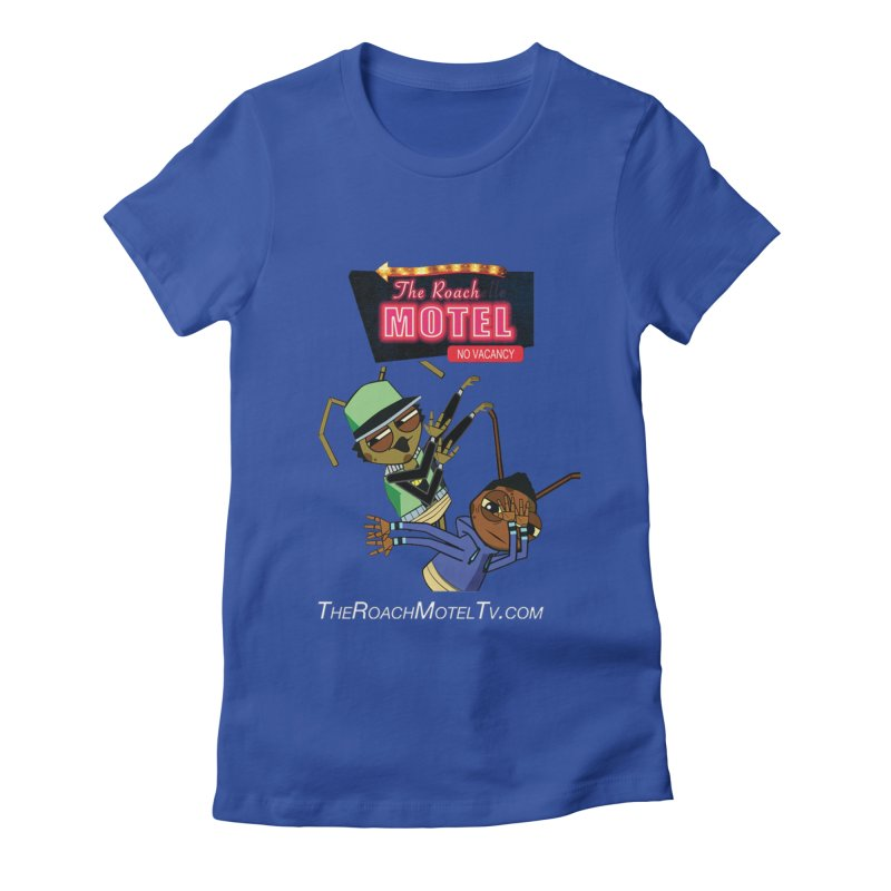 Roach DAB (Color) Women's Fitted T-Shirt by The Roach Motel's Artist Shop