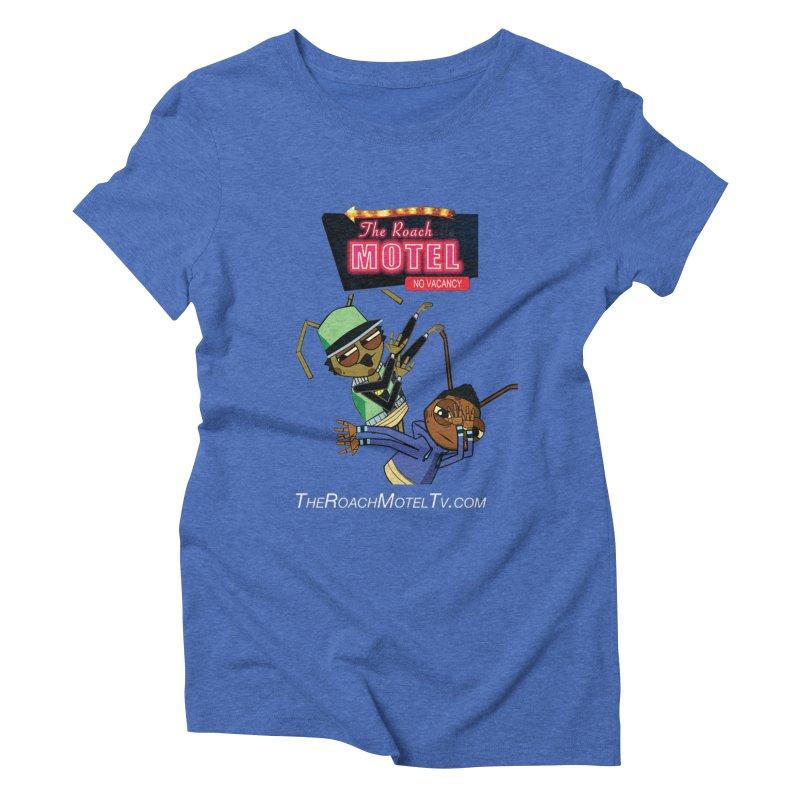 Roach DAB (Color) Women's Triblend T-Shirt by The Roach Motel's Artist Shop